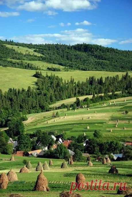 Удивительно прекрасные места. Карпаты. Украина.