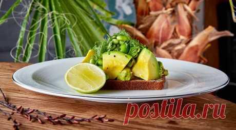 Модные и полезные завтраки с авокадо