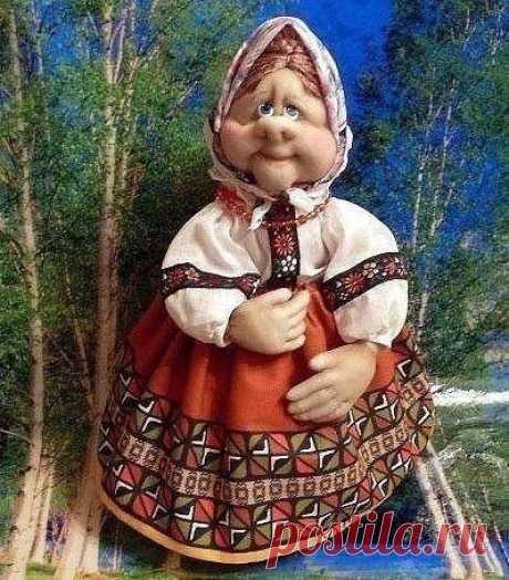 Бабулечка-красотулечка