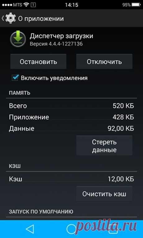 Диспетчер загрузок в Android – что это и как пользоваться.