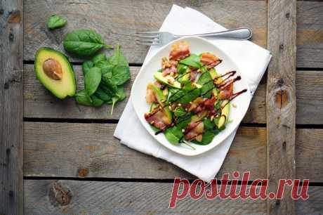 Салат с авокадо удивит простотой и волшебным вкусом