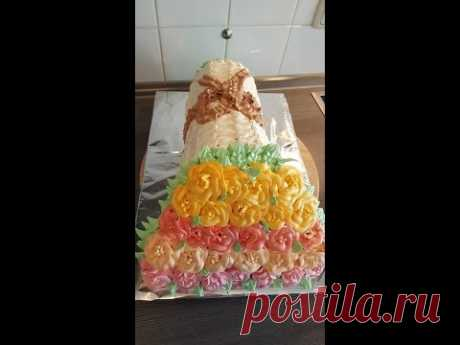 """La torta \""""el Ramo de las rosas\"""""""
