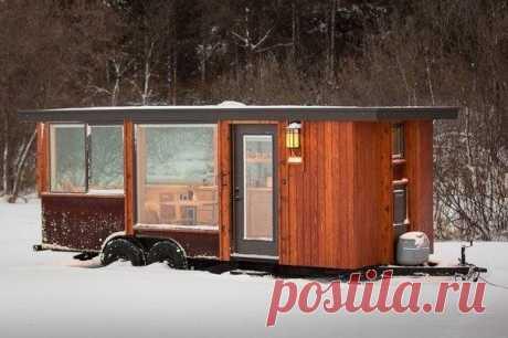 Уютный дом на колесах  #идеи_для_дачи