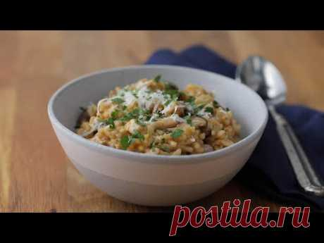 Mushroom and Leek Risotto // Presented by Holland House and BuzzFeed
