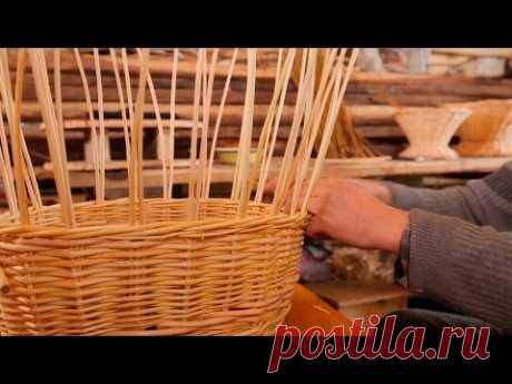 Сделано в Кузбассе HD: Плетение корзины