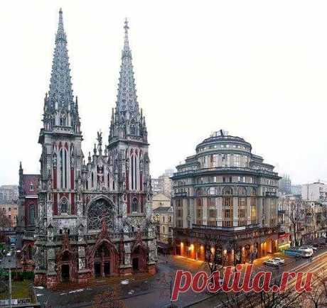 Это не Париж, не Милан и не Барселона - это Киев!!!