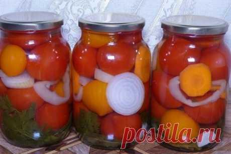 Маринованные помидоры на зиму – пошаговый рецепт с фотографиями