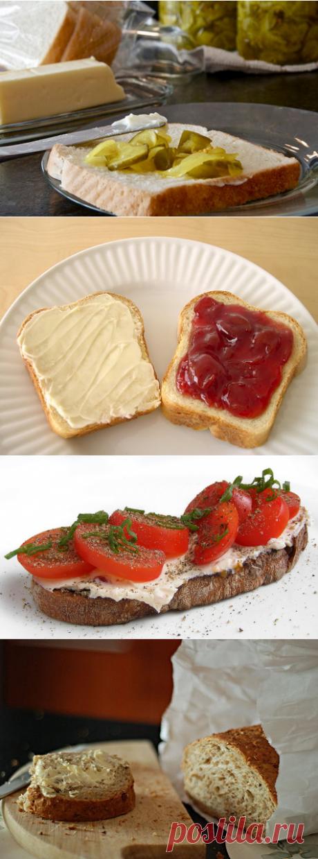 Вкусные «намазки» на хлеб
