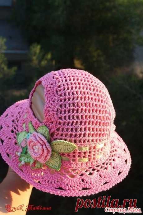 . Es necesaria la panameña con dyrochkami para los rabillos - el S. U - los Sombreros Tejidos - el País de las Mamás