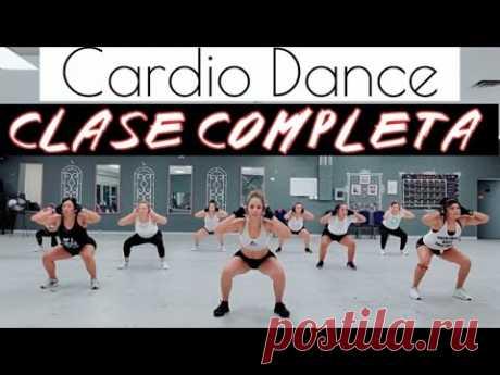 CARDIO DANCE / CLASE COMPLETA PARA BAJAR DE PESO Y TONIFICAR