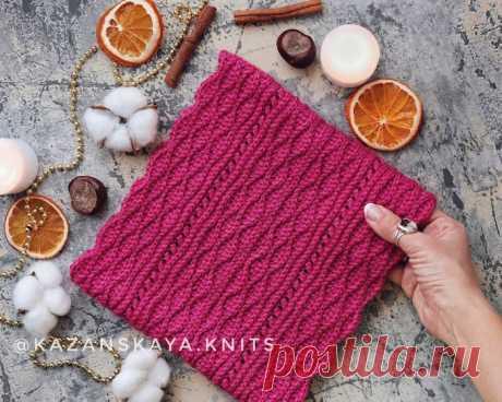Снуд крючком от kazanskaya.knits