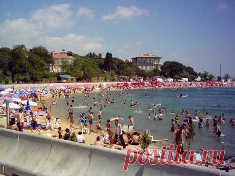 Бесплатные пляжи Стамбула: топ-5 лучших | Как доехать, карта