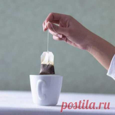 5 причин не выбрасывать чайные пакетики. В гениальность их применения сложно поверить!