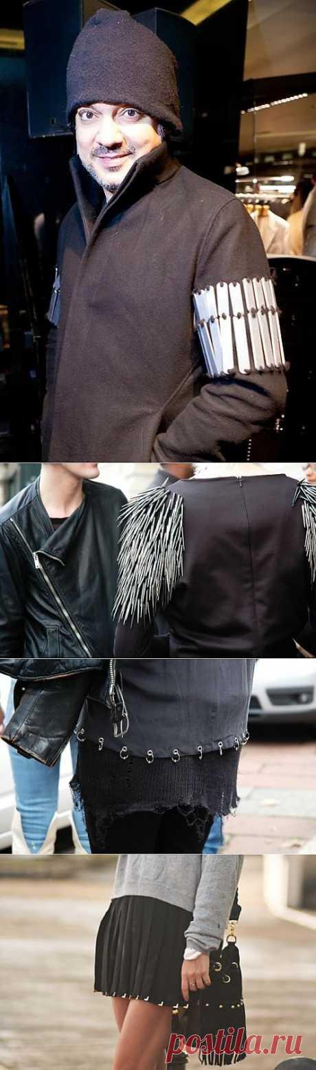 Да! Опять металл! (трафик) / Street Style / Модный сайт о стильной переделке одежды и интерьера