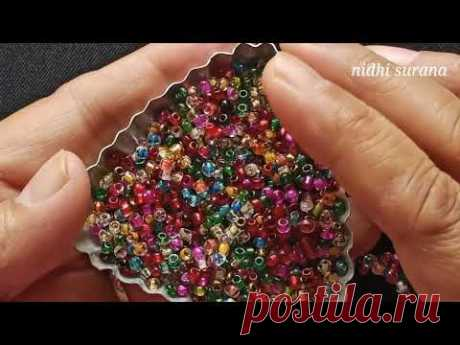 ⚜️Spikey, Long Necklace/ Seed bead jewelry/Beading Tutorial diy (0481)