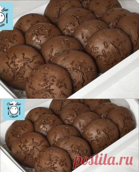 Шоколадное печенье с кусочками шоколада Автор рецепта CookEatSmile - Cookpad