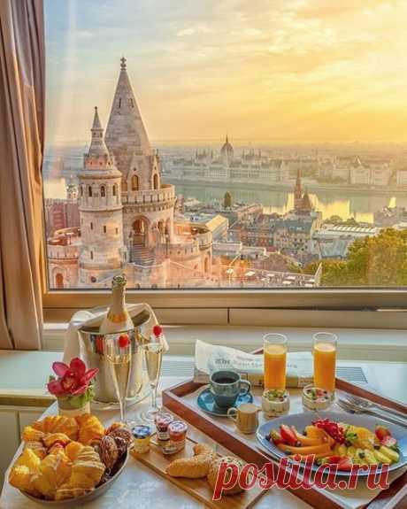 А где бы вы хотели завтракать этим утром?