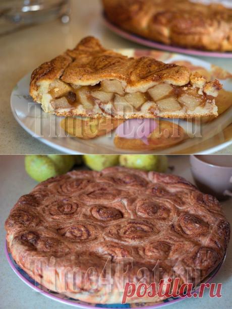 Пирог с яблоками и корицей | Пора перекусить!