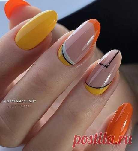 Модный летний маникюр 2020 на короткие и длинные ногти => fashion-woman.com