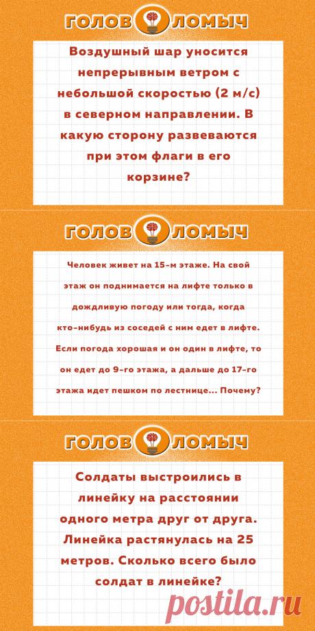 Задачи на логику, с которыми не справился мой сын на собеседовании в московской компании | Головоломыч | Яндекс Дзен