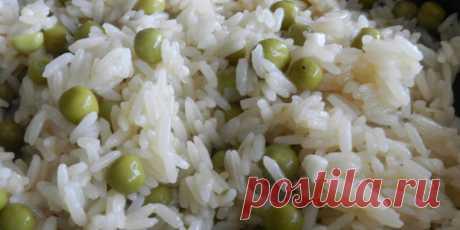(+3) Гарнир из риса и горошка : Овощные блюда