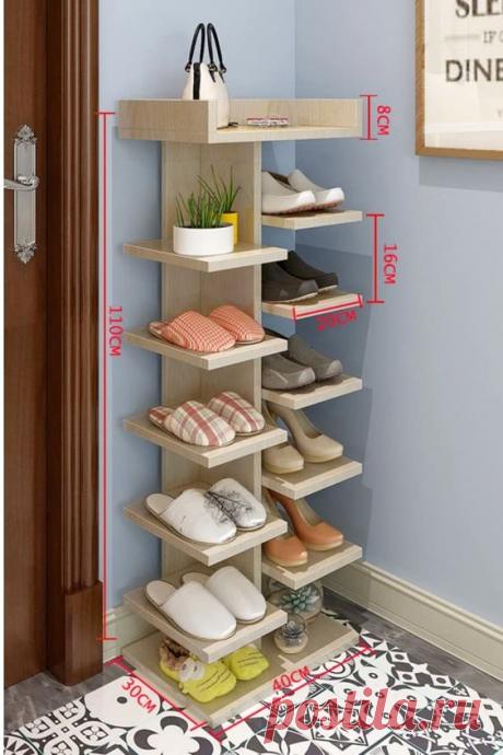 Удобные полки, для хранения обуви - своими руками! Примеры для воплощения! | Юлия Жданова | Яндекс Дзен