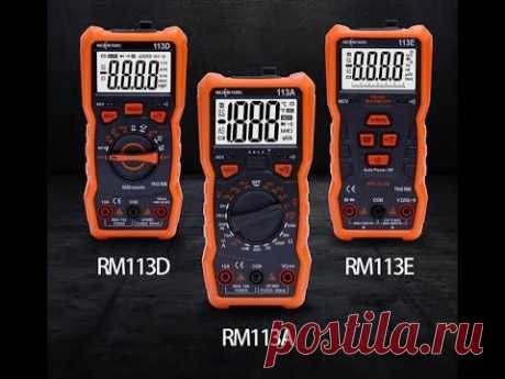 RICHMETERS RM113D НТС Цифровой мультиметр