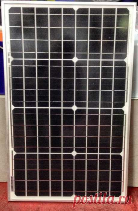 Солнечная панель MONO 12В 40 Вт, 420*670*25 во Владивостоке - купить в магазине Умное Электричество
