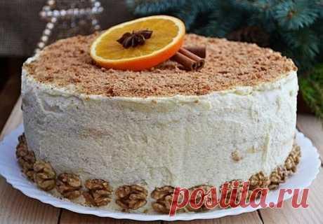 Творожный торт. Этот нежный и очень вкусный домашний торт всегда на моем праздничном столе. - У нас так Творожный торт. Этот нежный и очень вкусный домашний торт всегда на моем праздничном столе. Вам потребуется: творог 400 г сахар 1 ст. + 1 ст. яйца куриные 4...