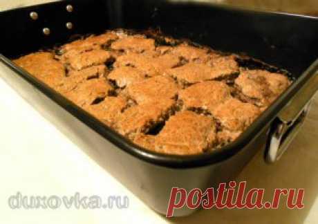 Говядина с грибами в духовке - рецепт с пошаговыми фото