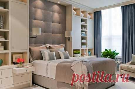 Система хранения в спальне: 5 идей для комнат разной площади В поиске панацеи от вездесущего беспорядка, мы собрали для вас 5 лучших идей для организации системы хранения в спальне любой площади