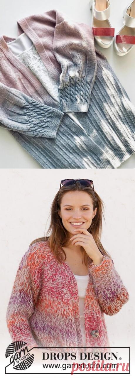 Согреваемся красиво: 6 моделей стильных кардиганов спицами | Вязание | Яндекс Дзен