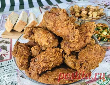 Крылышки как в KFC – кулинарный рецепт