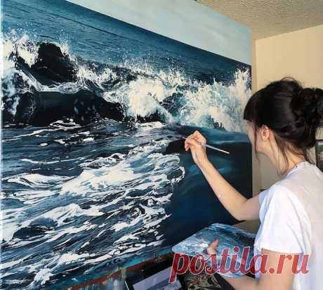 Гиперреалистичная живопись: замечательные картины от художницы-самоучки