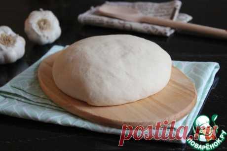 Тесто для очень тонкой пиццы – кулинарный рецепт