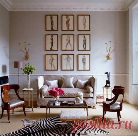 Идеи оформления гостиной на фото: интерьеры в разных стилях   Admagazine   AD Magazine