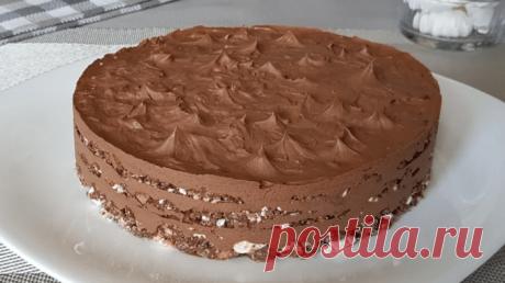 Шоколадний торт за мотивами Київського торта. Без духовки: просто і легко • журнал Коліжанка