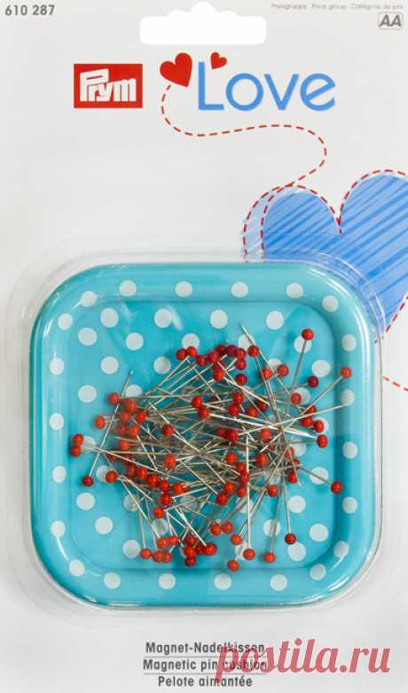 Магнитная игольница Prym Love с набором булавок - Швейный Мир