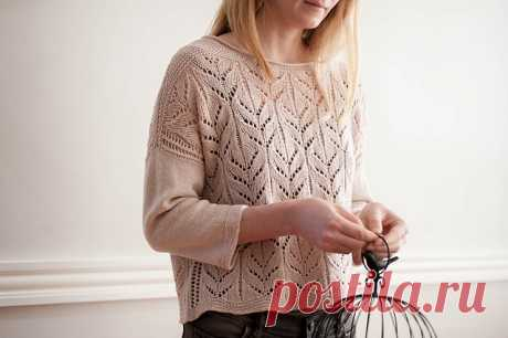 Ажурный пуловер Danes