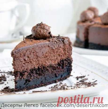 Cake mousse Truffle