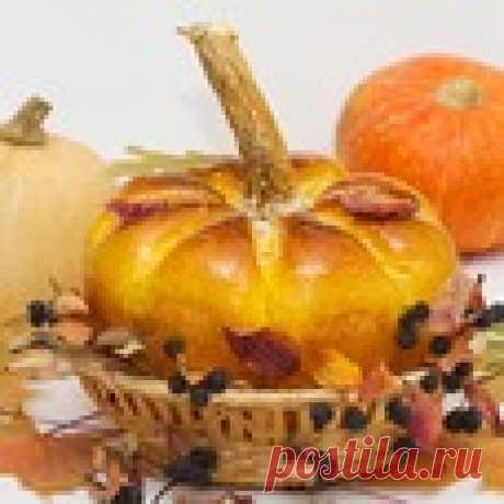 "Хлеб ""Осенняя тыква"" Кулинарный рецепт"