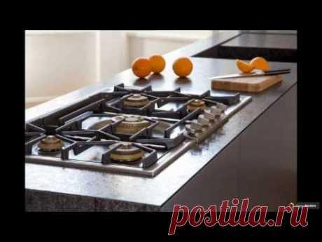 Встраиваемая газовая варочная панель: 75 стильных решений для кухни