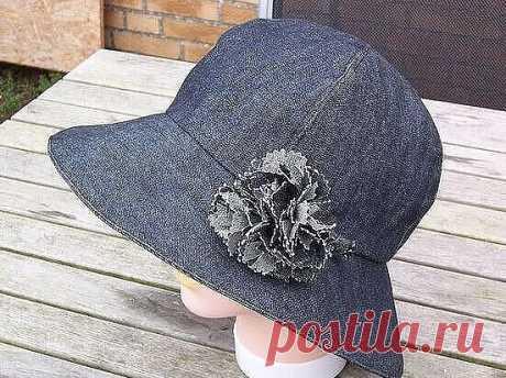 Идеи шляпок-панамок + выкройки.