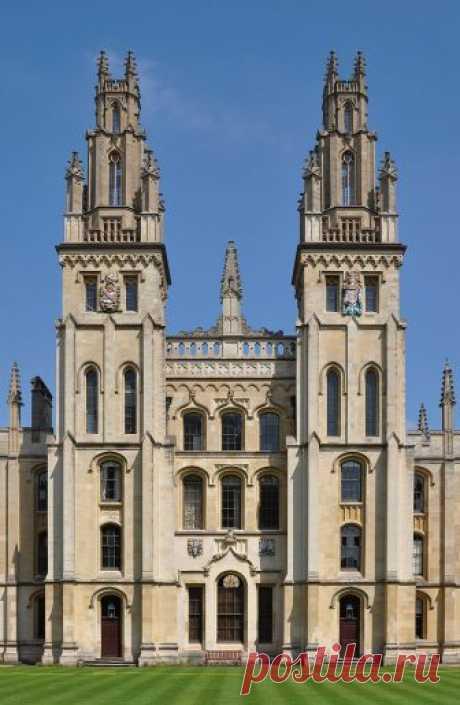 Шедевры архитектуры Оксфорда.Часть 1