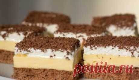 Пирожное как мороженное. Вкуснейший десерт Из очень простых и вполне доступных ингредиентов можно приготовить весьма необычный десерт.