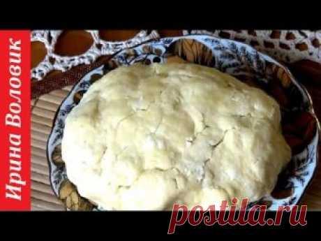Слоеное тесто. Самый быстрый и простой рецепт.