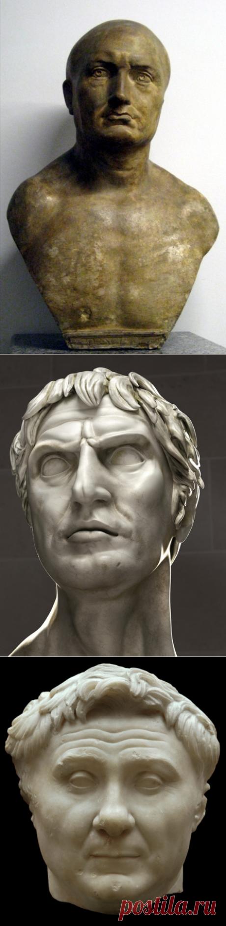 19 величайших полководцев Древнего мира. (Рожи честно говоря ещё те. А Юлий не побоюсь этого слова Цезарь чем-то смахивает, боюсь даже произнести, на В.В.)