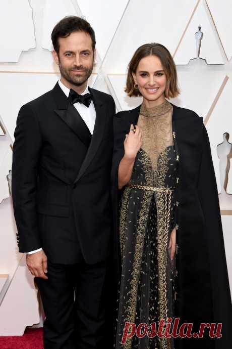 Натали Портман и Бенджамин Мильпье на премии «Оскар-2020» | VestiNewsRF.Ru