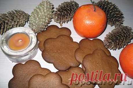 Имбирное печенье с медом и корицей - пошаговый рецепт с фото