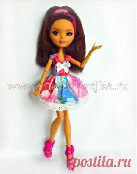 Платье с двойным лифом для куклы EAH своими руками   Самошвейка - сайт для любителей шитья и рукоделия
